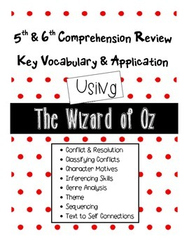 5th & 6th Grade Comprehension Terms Review