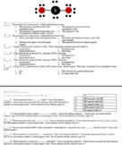 Review Day Question Sheet for Intermolecular Forces (IMFs)