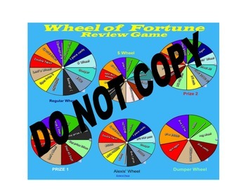 Review Game ALL AREAS - Wheel of Fortune