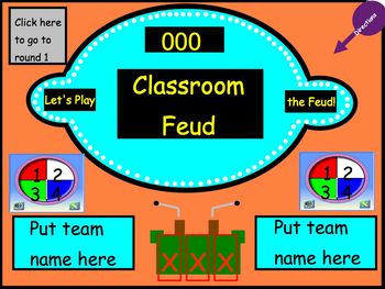 Review Game: Classroom Feud