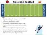 Review Game: Classroom Football