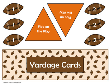 Review Game:  Football for the Classroom