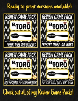 Review Game Pack EDITABLE TEMPLATE