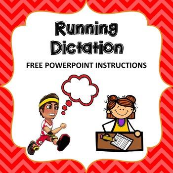 Running Dictation ESL / EFL Review Game Instruction
