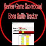 Review Game Scoreboard - Boss Battle Tracker