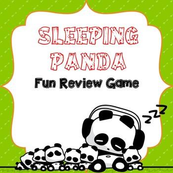 Review Game - Sleeping Pandas!