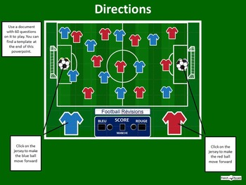 Customizable Powerpoint: Soccer