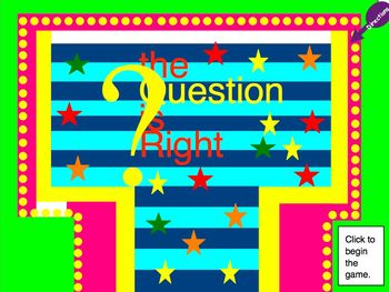 Review Game: The Question is Right