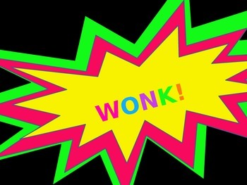 Review Game:  Wonk!  (Black Background)