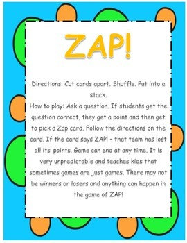 Review Game - ZAP