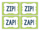 Review Game: Zip! Zap!