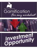 Review Game for All Subjects:  Investment Opportunity