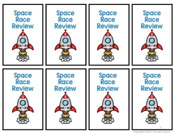 Review Game for Any Subject with Outer Space Theme