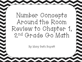 QR Code Review Game for Chapter 1 in Go Math 2nd Grade