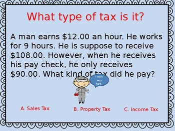 Review Game for Taxes