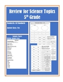 Review Games 5th Grade Science- Multiple Standards