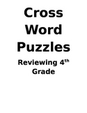 Review Games Cross Word Puzzles for Science and Social Studies