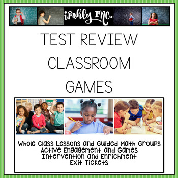 Standardized Test Review Games for ANY Content
