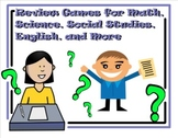 Review Games for Math, Science, Social Studies, English and Much More