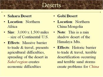 Review: Geography in Global History (NYS)