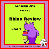 REVIEW Language - Grammar | Rhino Review 1 | TEST PREP | CORE Gr 3