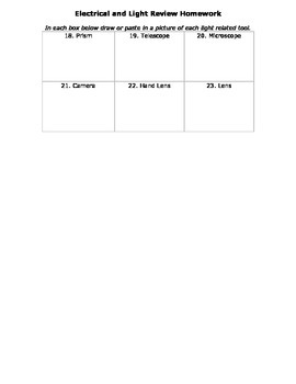 Review Homework: Intro to Science