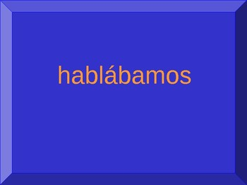 Review Jeopardy Avancemos 2 Unit 4