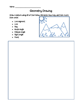 Review Lines and Angles Using Art