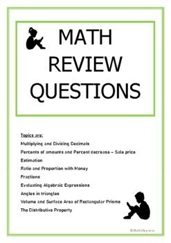 Math Review Questions