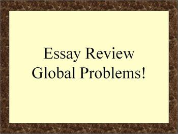Review: Modern Problems in Global History (NYS)