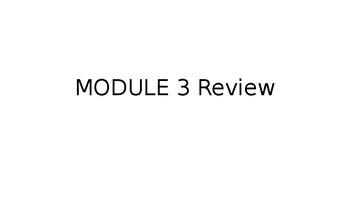 Review Notes on Quadratics