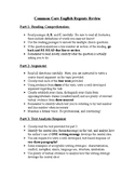 NYS CCLS Regents English Exam - Review Packet