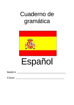 Review Packet of Spanish Grammar (40 Pages)