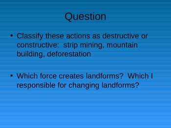 Review – Plate Tectonics, Faults, Earthquakes, Rocks, Volcanoes.