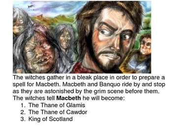 Review Posters for Macbeth