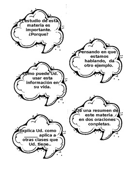 Review Questioning - Spanish