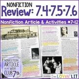 Review RI.7.4, RI.7.5, & RI.7.6 | Mystery of Anastasia Romanov Article #7-12