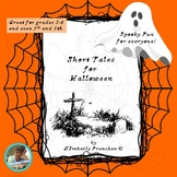 Spooky Stories & Printables to Reinforce Reading Skills