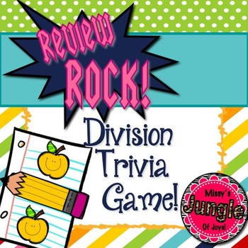 """Review Rock! The Division Facts Musical """"Scoot"""" Game!"""