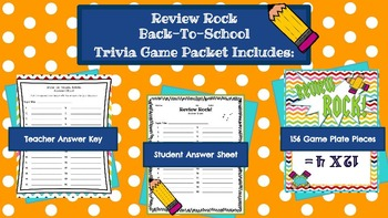 Review Rock: Multiplication Facts Review Game!