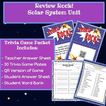"Review Rock! The Solar System Musical ""Scoot"" Game!"