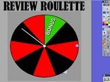 Promethean Board Review Roulette Game