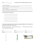 Review Scientific Method and Science Tools