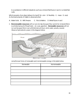 Middle School Science Review - Life, Physical, Earth Science (5 - 9)