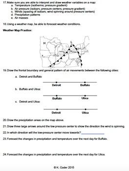 Review Sheet - Meteorology *EDITABLE*