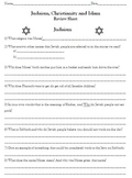 Review Sheet for Judaism, Christianity and Islam