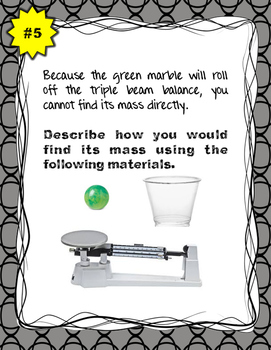 Review Stations: Thinking Like a Scientist Skills