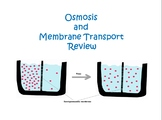 Review Stations for Diffusion and Membrane Transport