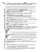 Review / Study Guide - Short Story Unit Test (Grade 9)