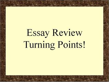 Review: Turning Points in Global History (NYS)